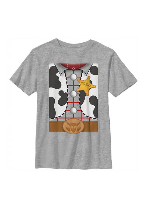 Boys 4-7  Woody Suit Graphic T-Shirt