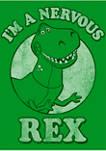 Boys 4-7 Rex Nervous Graphic T-Shirt