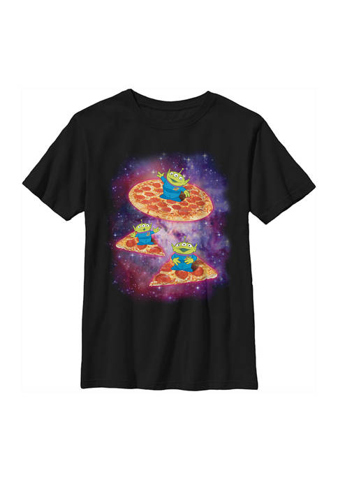 Boys 4-7 Pizza Saucer Graphic T-Shirt