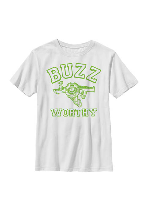 Boys 4-7 Space Worthy Graphic T-Shirt