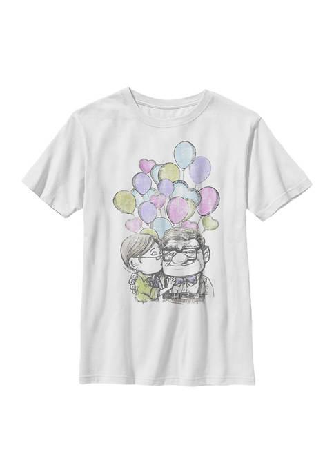 Disney® Boys 4-7 Love Up Graphic T-Shirt