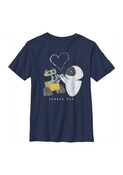 Boys 4-7 Wall-E Sparks Fly Graphic T-Shirt