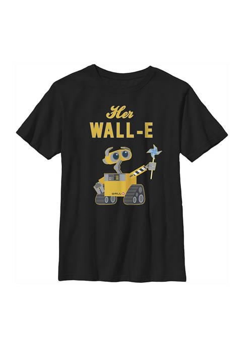 Boys 4-7 Wall-E Her Wall-E Graphic T-Shirt