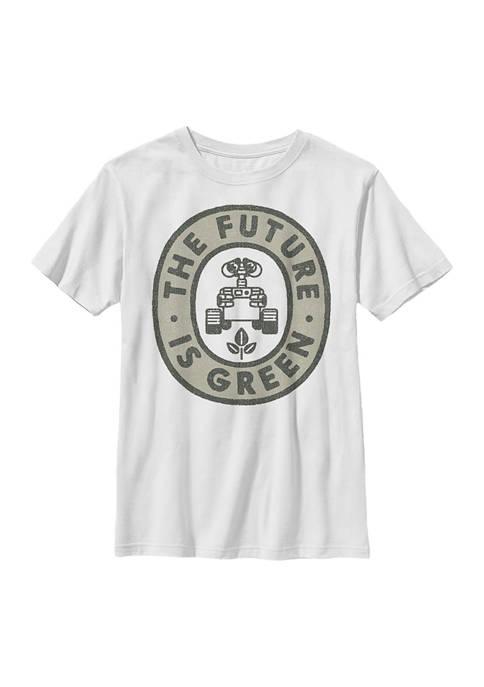 Boys 4-7 Wall-E Green Future Graphic T-Shirt