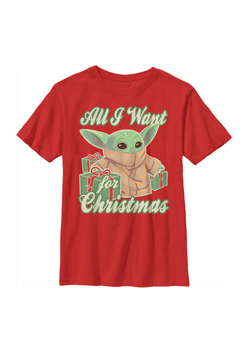 Boys 4-7 Christmas Baby T-Shirt
