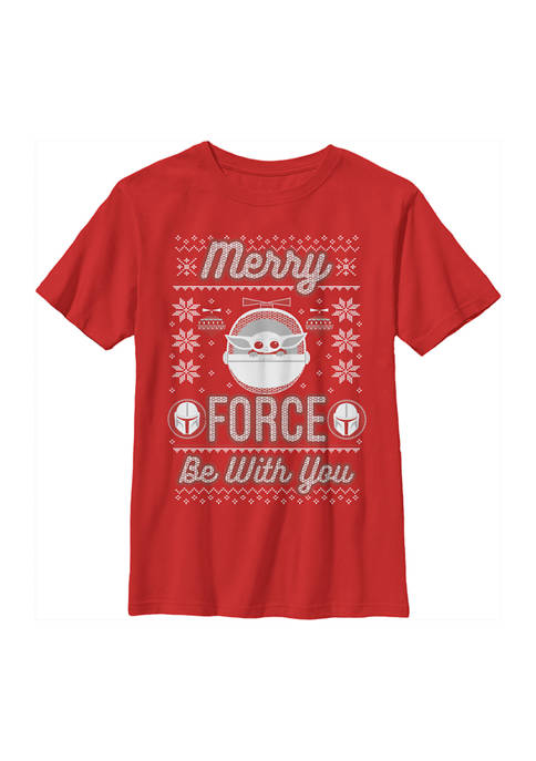 Boys 4-7  Merry Force Child Graphic Top
