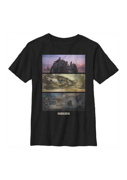 Boys 4-7 Star Wars The Mandalorian Epic Story Graphic T-Shirt