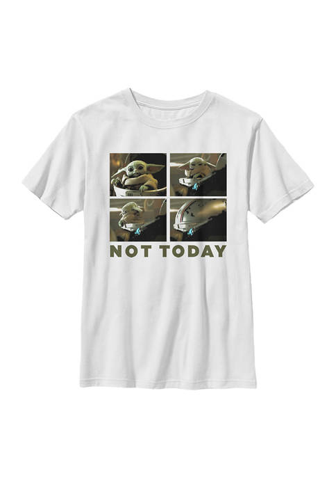 Boys 4-7 Star Wars The Mandalorian Not Today Graphic T-Shirt