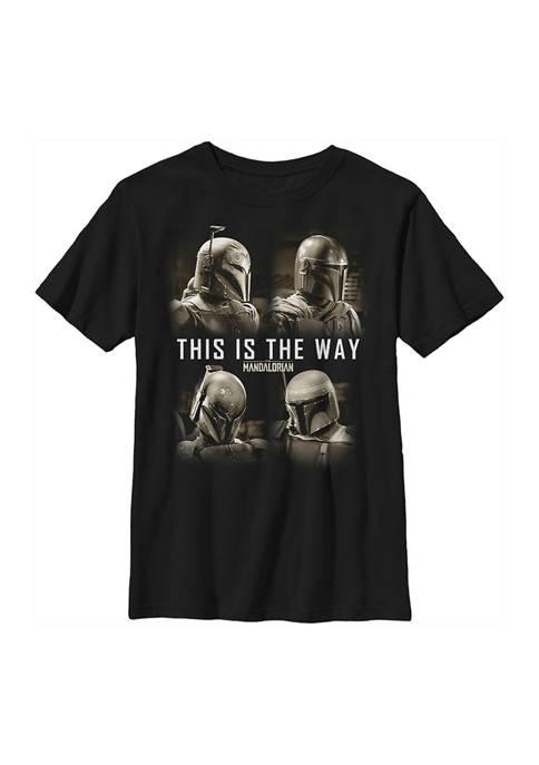 Boys 4-7 Star Wars The Mandalorian MandoMon Epi3 Shore Graphic T-Shirt