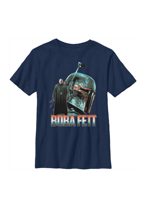 Boys 4-7 Star Wars The Mandalorian MandoMon Epi6  Tracking Graphic T-Shirt