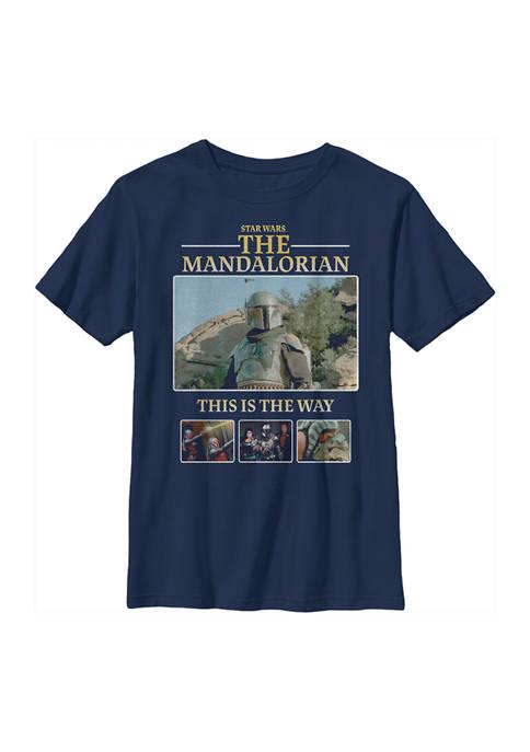 Boys 4-7 MandoMon Epi6  United Against Graphic T-Shirt