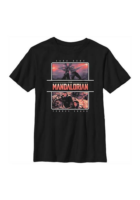 Boys 4-7 Star Wars The Mandalorian MandoMon Epi6 Chased Graphic T-Shirt