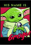 Boys 4-7 His Name Is Grogu Graphic T-Shirt