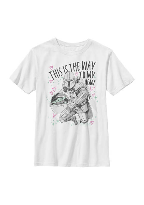 Boys 4-7 Way to My Heart Graphic T-Shirt