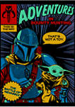 Boys 4-7 Star Wars The Mandalorian Mando Comic Graphic T-Shirt