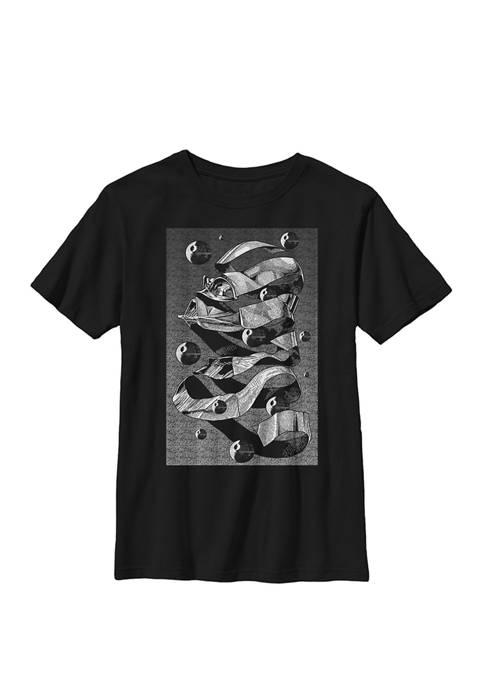 Boys MC Darth Vader Crew T-Shirt