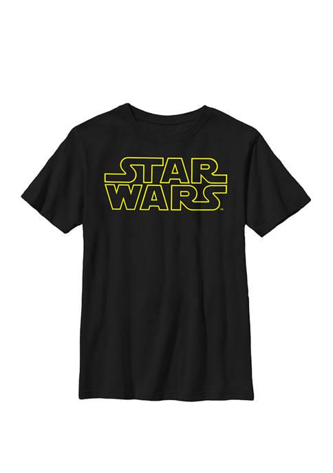 Boys Original Classic Movie Logo Crew T-Shirt