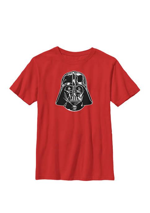 Boys 8-20 Darth Vader Classic Black Helmet Crew