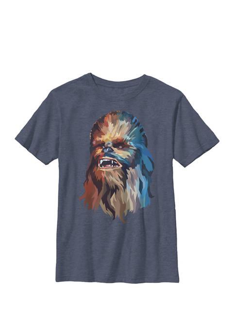 Boys 8-20 Chewbacca Art Crew T-Shirt