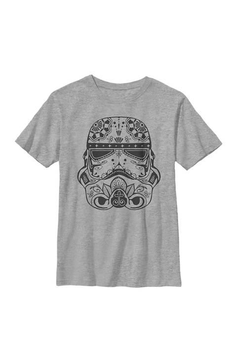 Boys 8-20 Ornate Stormtrooper Crew T-Shirt