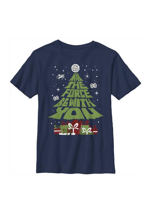 Boys 4-7 Tree Graphic Top