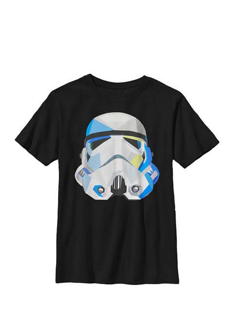 Boys 8-20 Stormtrooper Geometric Prism Crew Graphic T-Shirt