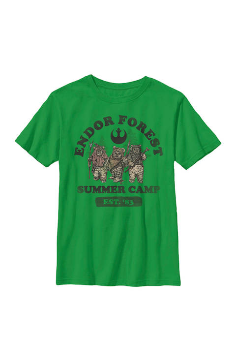 Endor Forest Summer Camp Z1 Crew Graphic T-Shirt