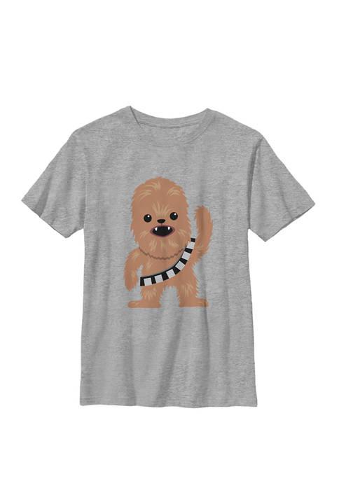 Boys 8-20 Chewbacca Cutie Cartoon Chewie Crew Graphic