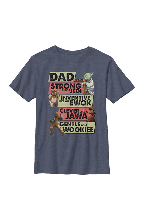 Boys 8-20 Dad You Are Strong Like A