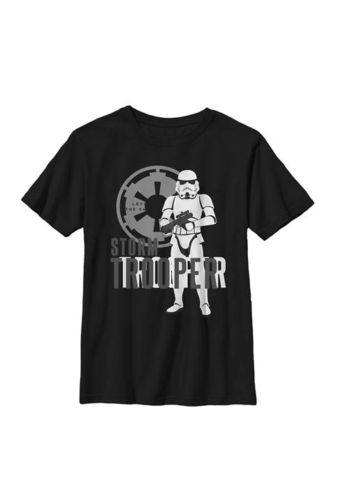 Galaxy Of Adventures Stormtrooper B1P Crew Graphic T-Shirt