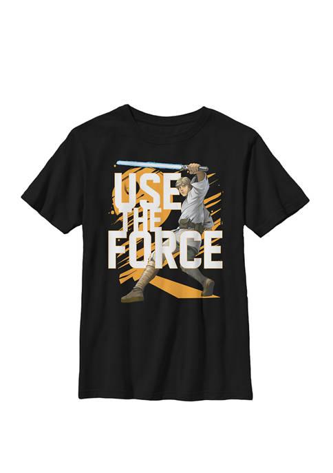 Boys 8-20 Use The Force Luke Skywalker Crew