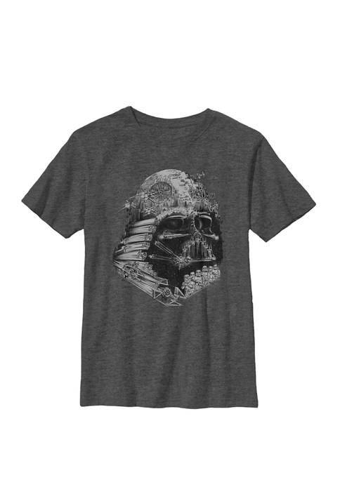 Darth Vader Build The Empire Crew Graphic T-Shirt