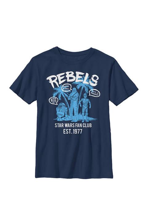Boys 8-20 Rebels Fan Club 1977 B1 Crew
