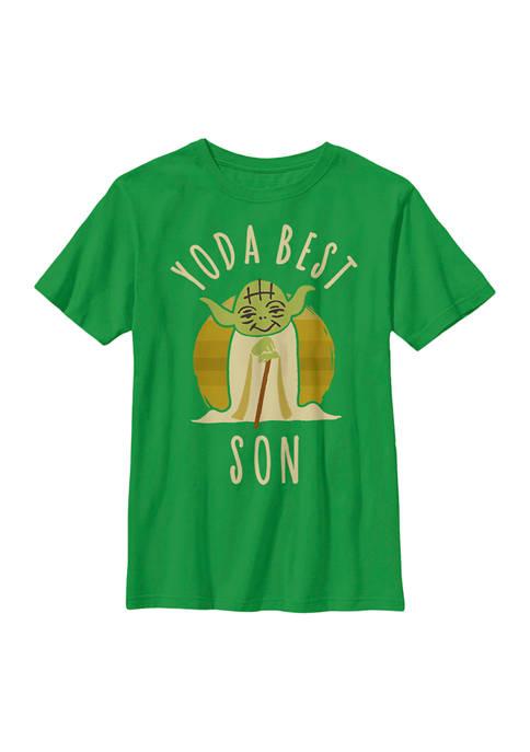 Star Wars® Boys 4-7 Best Son Yoda Says