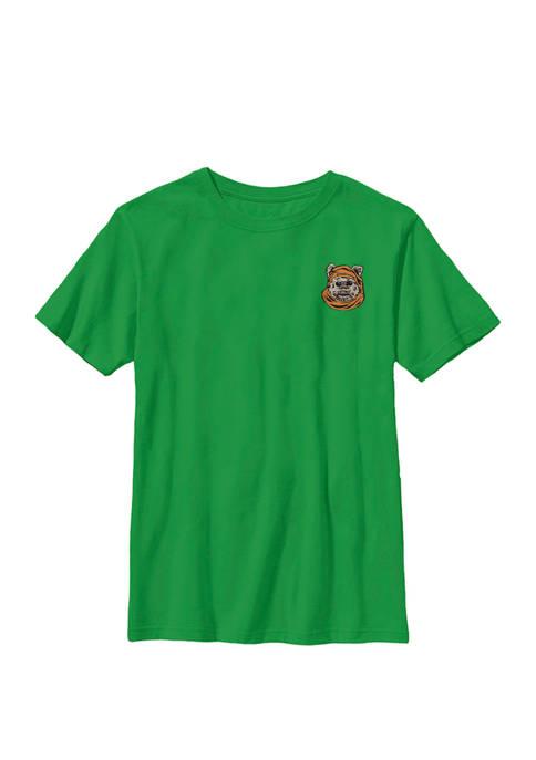 Boys 8-20 Ewok Left Chest Crew Graphic T-Shirt