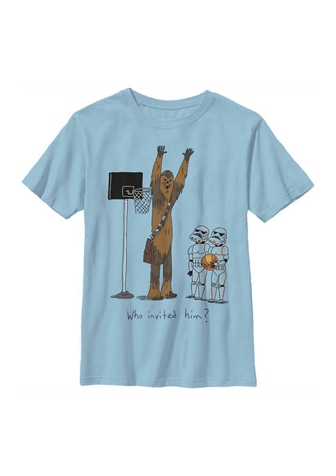 Boys 4-7 Chewie Basketball Graphic Top