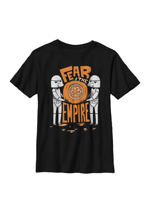 Boys 4-7 Fear the Empire T-Shirt