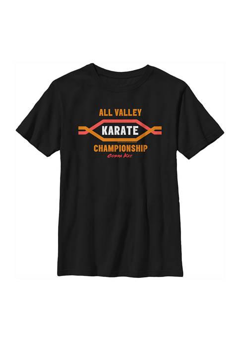 Boys 4-7 Cobra Kai Valley Champs Top