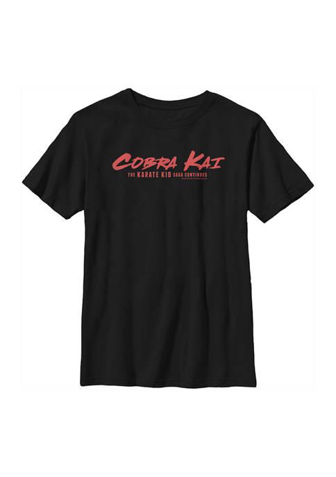 Cobra Kai Boys 4-7 Logo Graphic T-Shirt