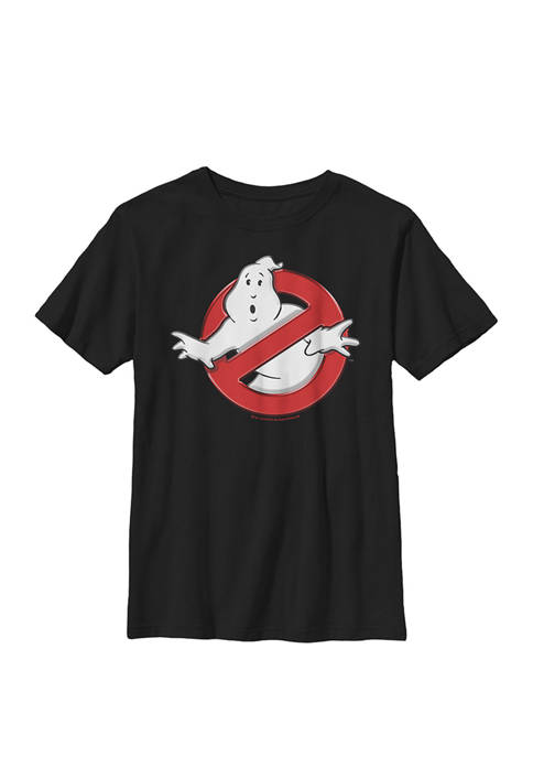 Ghostbusters Classic Movie Logo Crew Graphic T-Shirt