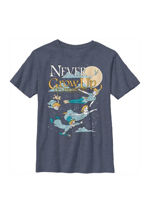 Disney® Boys 4-7 Tinkerbell Grow Up Never Graphic