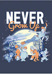 Boys 4-7 Tinkerbell Never Grow Up Graphic T-Shirt
