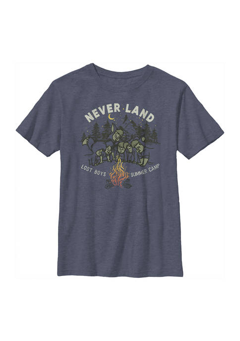 Boys 4-7 Tinkerbell CAMP NEVER LAND Graphic T-Shirt