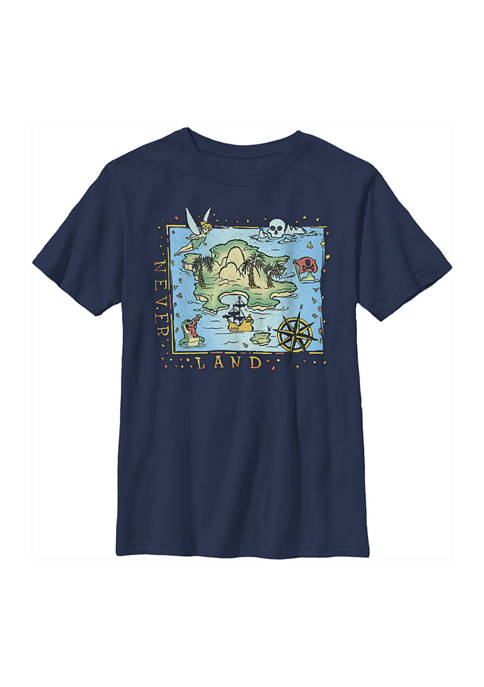 Boys 4-7 Tinkerbell Never Land Coast Graphic T-Shirt
