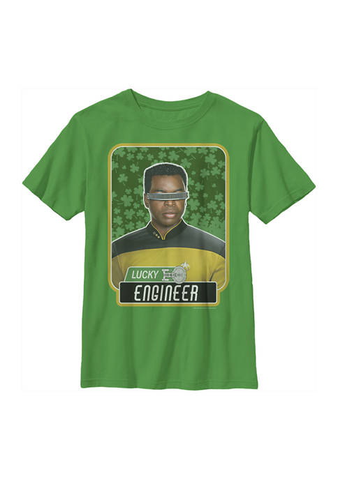 Boys 4-7  Lucky Engineer La Forge Graphic T-Shirt