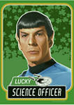 Boys 4-7  Lucky Science Officer Spock Graphic T-Shirt