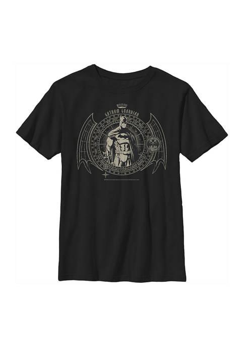 Batman™ Boys 4-7 Circle Graphic T-Shirt