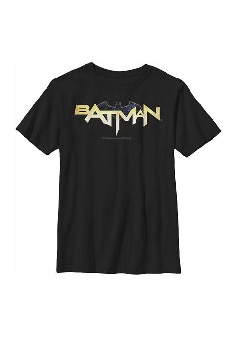 Boys 4-7 Bat Logo Eleven Graphic T-Shirt