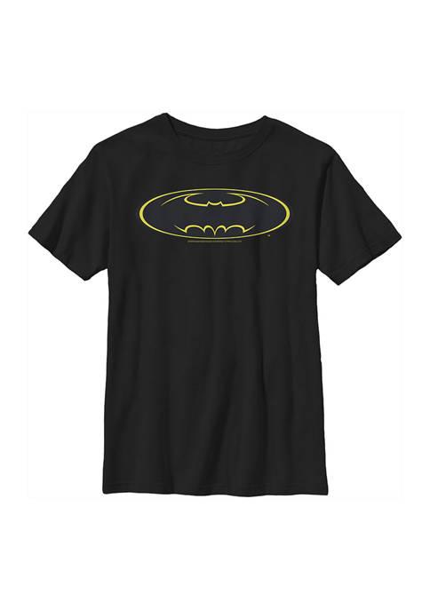 Boys 4-7 Bat Logo Nine Graphic T-Shirt