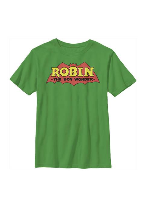 Batman™ Boys 4-7 Boy Robin Logo Graphic T-Shirt